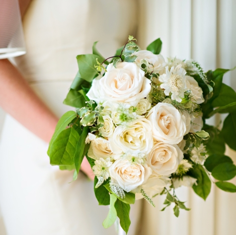 Gerrie and Zack Rose Bride Bouquet